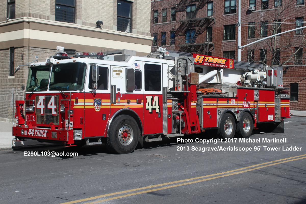 Welcome to the Company Page for Engine Company 92, Ladder Company 44 &  Battalion 17.