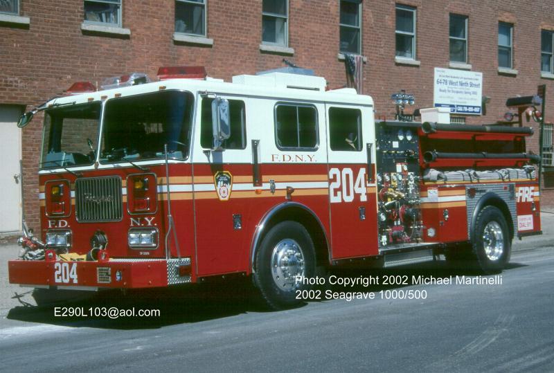 Company For Sale >> FDNYtrucks.com (Engine Company 204)