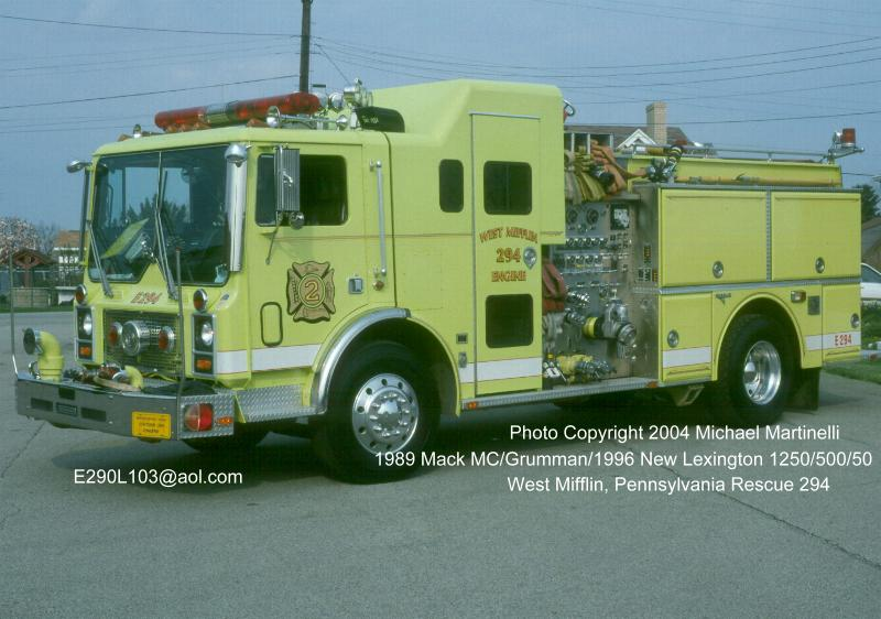 FDNYtrucks com (West Mifflin 294)