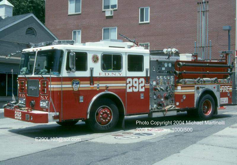 Welcome to the Company Page for Engine Company 292 & Rescue Company 4.