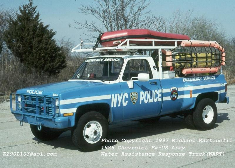 Used Trucks For Sale >> FDNYtrucks.com (NYPD)