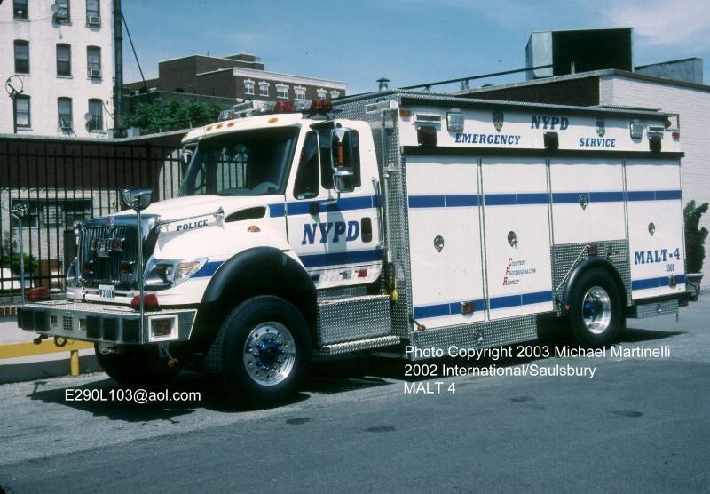 New York City Police Department Emergency Service Unit
