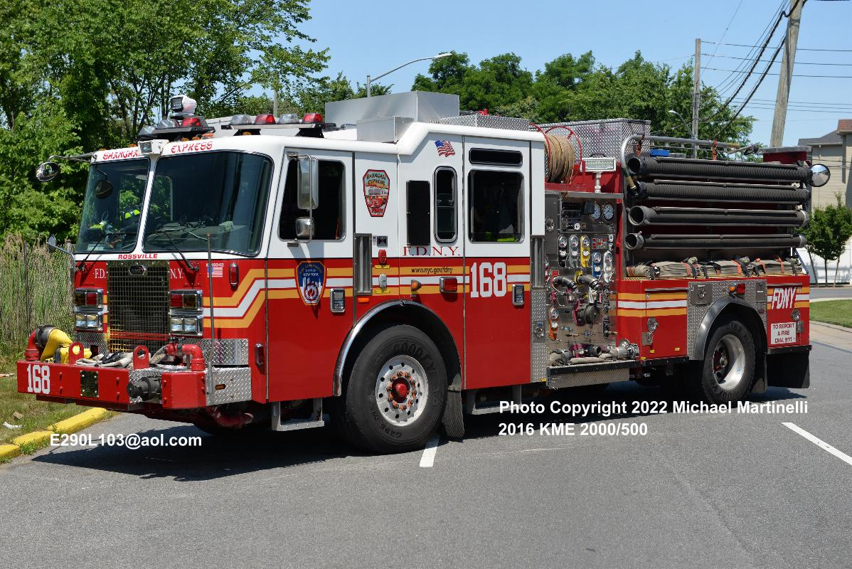 Welcome to the Company Page for Engine Company 168 Brooklyn